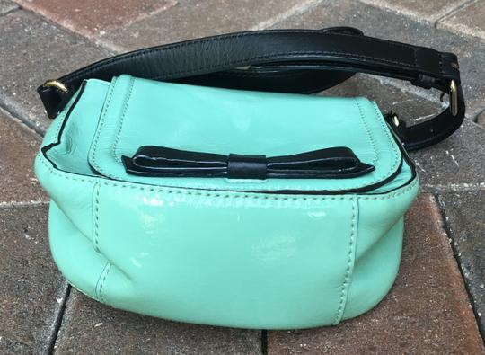 Kate Spade Chelsea Park Jade Patent Leather Crossbody/Messenger Cross Body Bag Image 5