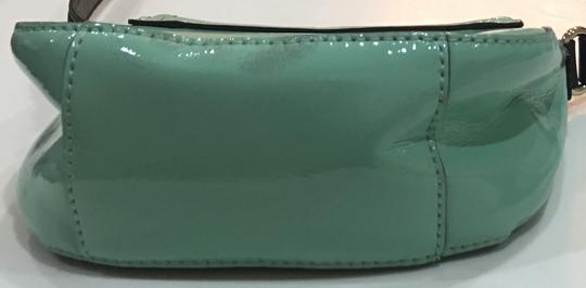 Kate Spade Chelsea Park Jade Patent Leather Crossbody/Messenger Cross Body Bag Image 8
