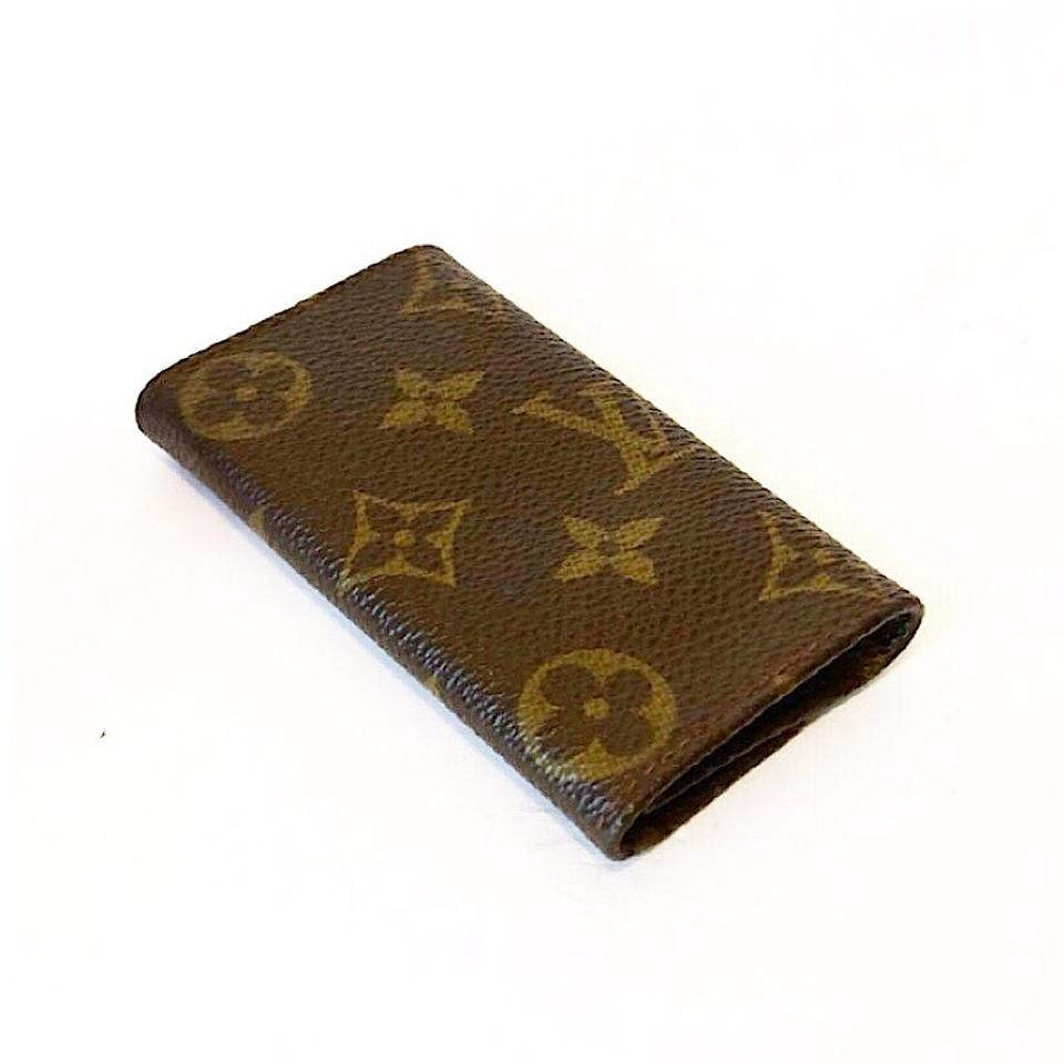 louis vuitton vintage monogram 6 key holder wallet tradesy. Black Bedroom Furniture Sets. Home Design Ideas