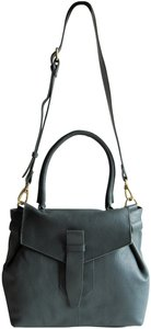 Clever Carriage Company Pebbled Leather Shoulder Bag