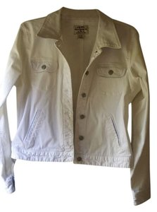 Ralph Lauren White Womens Jean Jacket