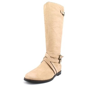 Cole Haan Leather BEIGE Boots