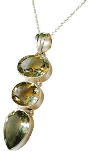 Preload https://item3.tradesy.com/images/js-collections-greensilver-faceted-prasiolite-gemstone-necklace-2281577-0-0.jpg?width=440&height=440