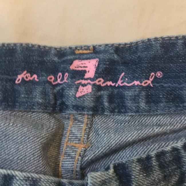 7 For All Mankind Boot Cut Jeans-Light Wash Image 2
