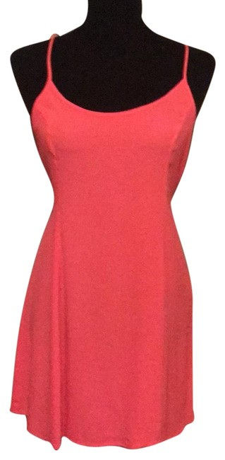 Forever 21 short dress salmon on Tradesy Image 0