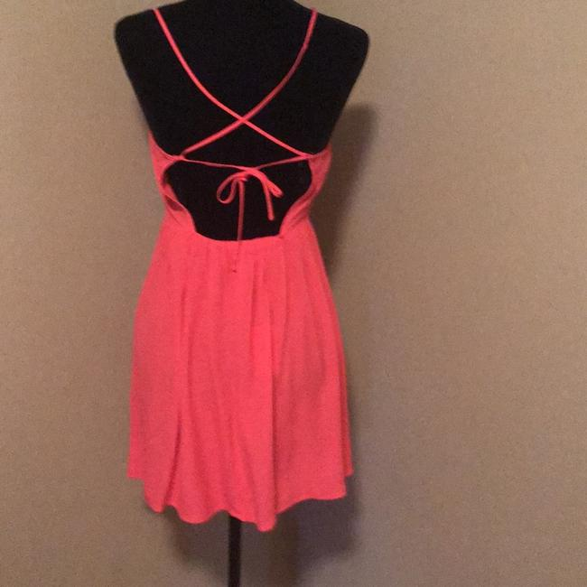 Forever 21 short dress salmon on Tradesy Image 1