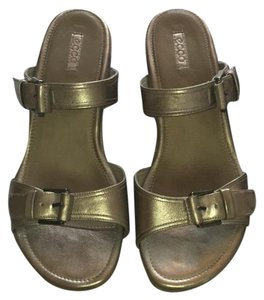 Ecco pewter Sandals