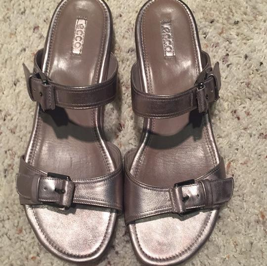 Ecco pewter Sandals Image 1