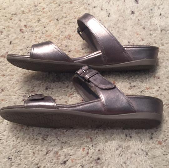 Ecco pewter Sandals Image 4