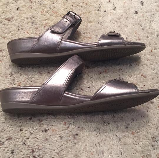 Ecco pewter Sandals Image 5