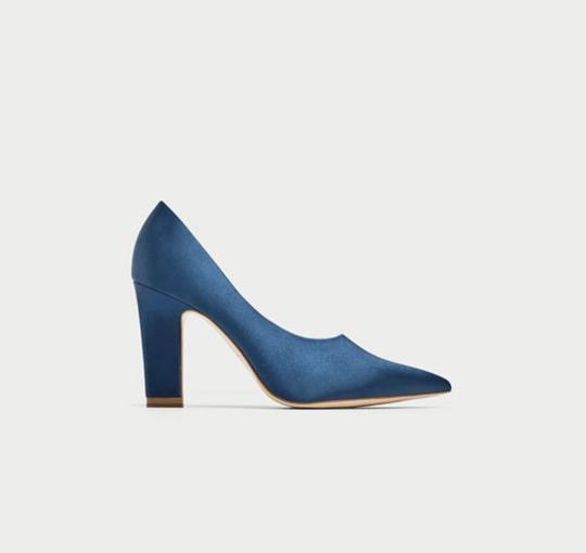 Zara blue Pumps Image 1
