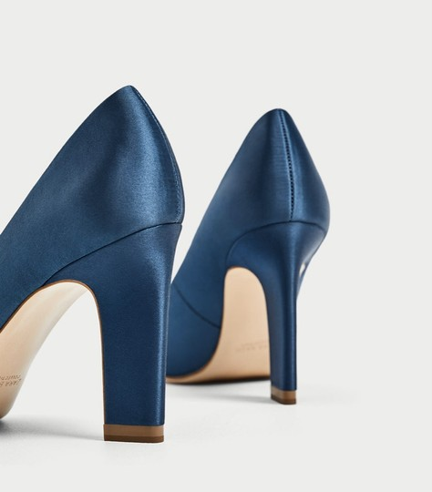 Zara blue Pumps Image 7