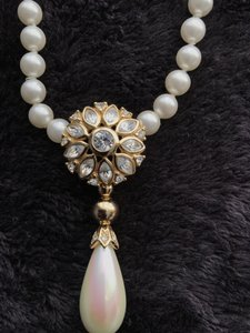 Dior Pearl Gold and Diamonds Collection Jewelry Set
