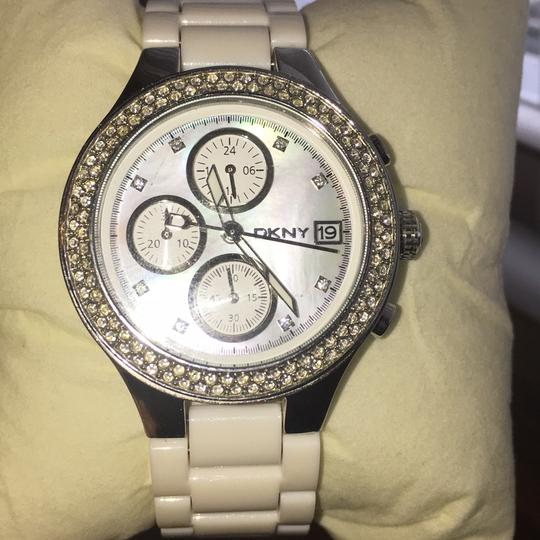 DKNY dkny white and stainless steel watch Image 1