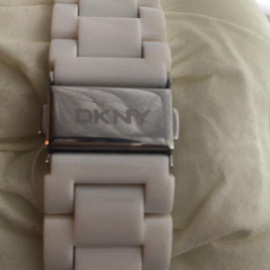 DKNY dkny white and stainless steel watch Image 4