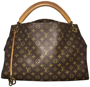 b390f531bd71 Added to Shopping Bag. Louis Vuitton Hobo Bag. Louis Vuitton Artsy Mm  Shoulder Braided Handle M40249 Brown Monogram Canvas ...