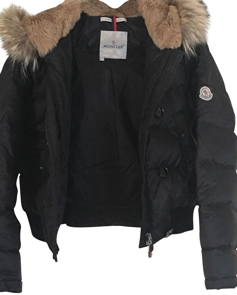 05f92ecb5653 Moncler Black Fall Winter Alpine Coat Size 2 (XS) - Tradesy