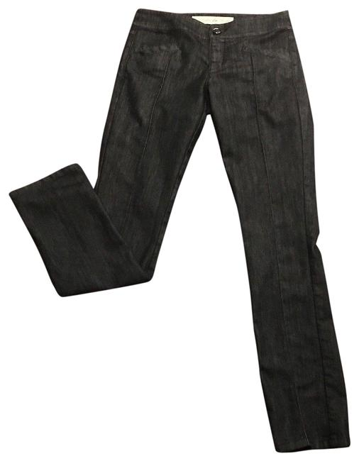 Item - Black Rinse Daughters Of The Liberation Pintuck Trouser Straight Leg Jeans Size 27 (4, S)