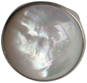 Ippolita IPPOLITA Mother Of Pearl Chunky .925 Sterling Silver Women's Ring