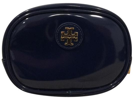 Preload https://img-static.tradesy.com/item/22817203/tory-burch-blue-patent-leather-with-gold-tone-hardware-cosmetic-bag-0-1-540-540.jpg