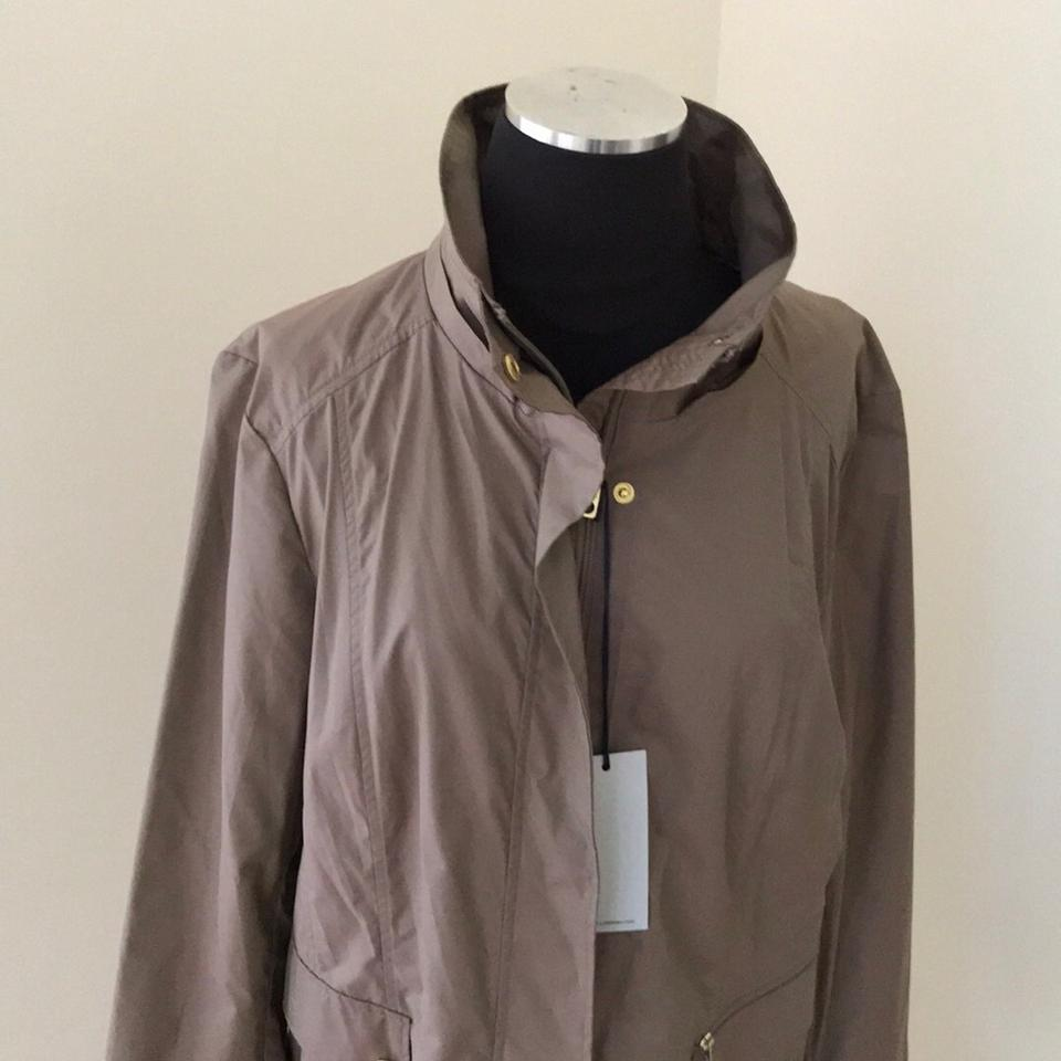 8a59f4ff34ee1 Cole Haan Taupe with A Little Shine Signature Coat. Size  16 (XL ...