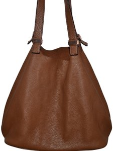 Michael Kors Tote in LUGGAGE SADDLE BROWN ROSE GOLD