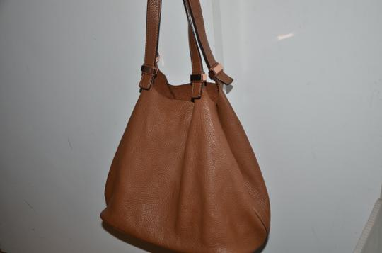 Michael Kors Tote in LUGGAGE SADDLE BROWN ROSE GOLD Image 1