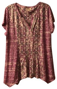 Style & Co Top purple