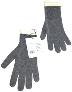 Chanel CHANEL CASHMERE CC GLOVES