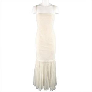 Ralph Lauren Collection Ball Gown Tulle Drop Waist Gown Pleated Dress