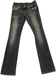Grace in LA Relaxed Fit Jeans-Medium Wash
