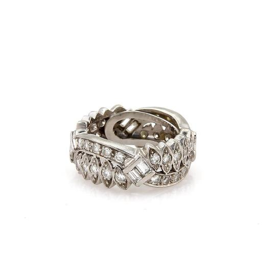 Preload https://img-static.tradesy.com/item/22819372/vintage-platinum-180ct-diamond-floral-design-wide-band-55-ring-0-0-540-540.jpg
