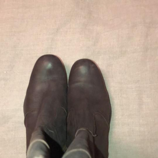 Vialis Brown / distressed leather treatment Boots Image 2