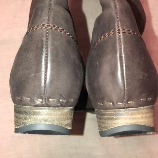 Vialis Brown / distressed leather treatment Boots Image 3