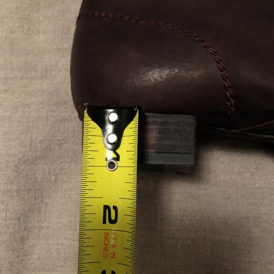 Vialis Brown / distressed leather treatment Boots Image 8