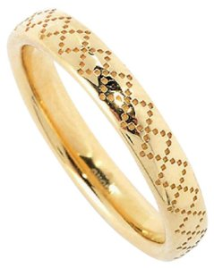 Gucci GUCCI DIAMANTISSIMA 18K YELLOW GOLD BAND RING