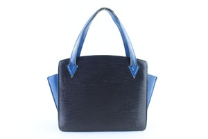 Louis Vuitton Alma Neverfull Vavin Houston Reade Tote in Black x Blue