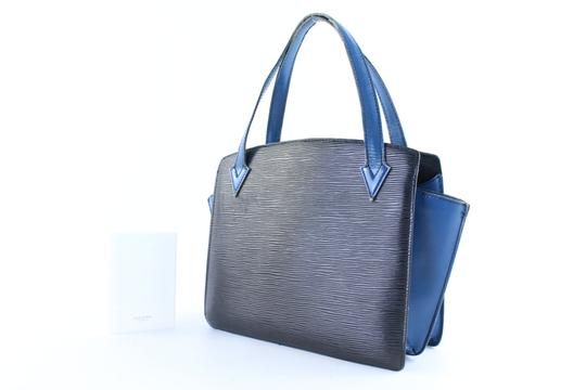 Louis Vuitton Alma Neverfull Vavin Houston Reade Tote in Black x Blue Image 1
