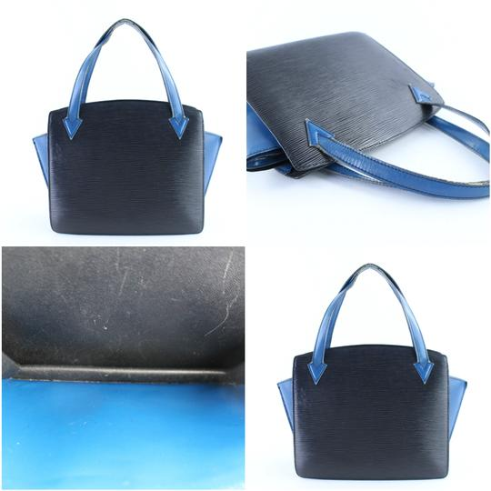 Louis Vuitton Alma Neverfull Vavin Houston Reade Tote in Black x Blue Image 2