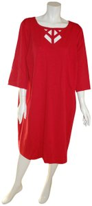Catherines Modest Cut-out Plus-size Dress