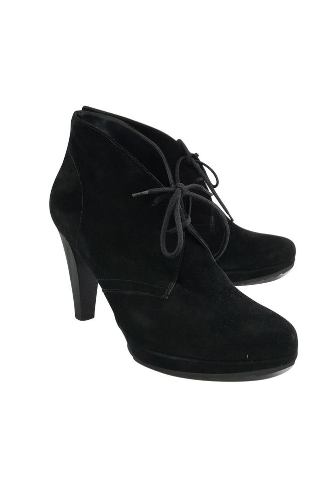 WOMENS Boots/Booties Paul Green Black Suede Boots/Booties WOMENS Many varieties 2d11bf