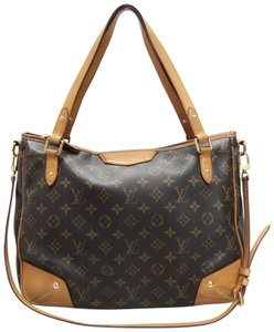 Louis Vuitton Lv Estrela Mm\ Canvas Satchel in monogram