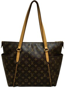 Louis Vuitton Monogram Totally Mm Canvas Shoulder Bag