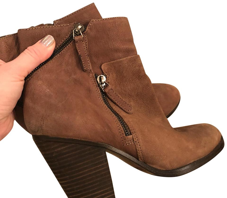 Women's Camuto Vince Camuto Women's Taupe Zipper Boots/Booties Comfort 5b2c02