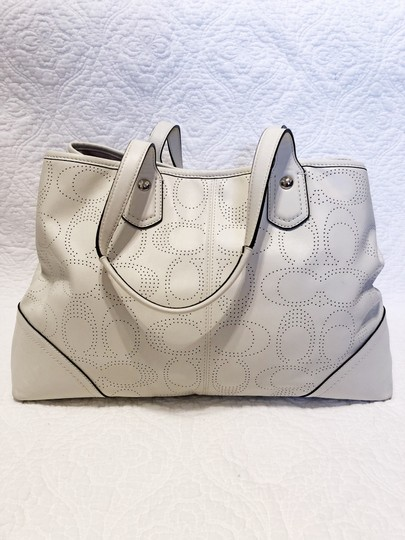Coach Tote Carryall Shoulder Bag Image 5