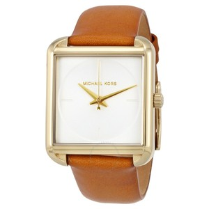 Michael Kors Michael Kors Women's Lake Gold-Tone and Light Brown Leather MK2584