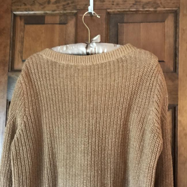 H&M Long Sleeves Rounded Neckline Pullover Style Vented Cotton Blend Sweatshirt Image 7