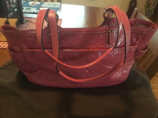 Coach Tote in Barbie pink Image 5