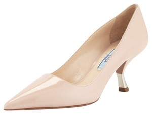 Prada Lounoutin Pointed Toe Pigalle Kitten Nude Cipria Pumps