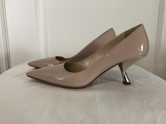 Prada Lounoutin Pointed Toe Pigalle Kitten Nude Cipria Pumps Image 1